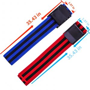 Booty Bands for Women Glutes BFR Band Blood Flow Restriction Bands Hip Building Occlusion Training Fabric Resistance Bands